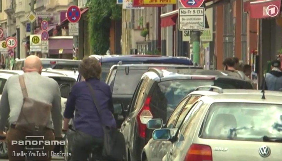 falschparker-blockieren-radfahrer-berlin-innenstadt